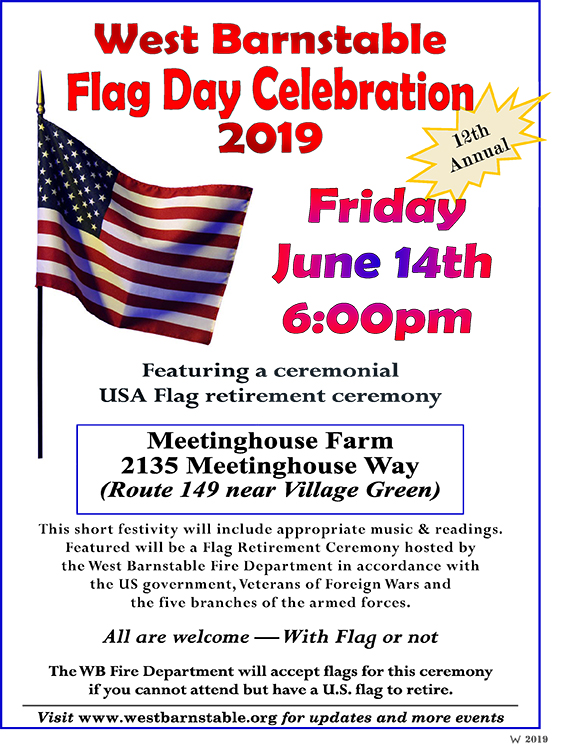 FlagDay19 flyer